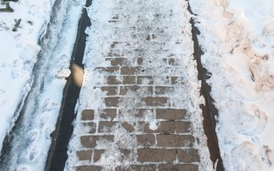 Winterize Your Concrete Walkway Before It's Too Late