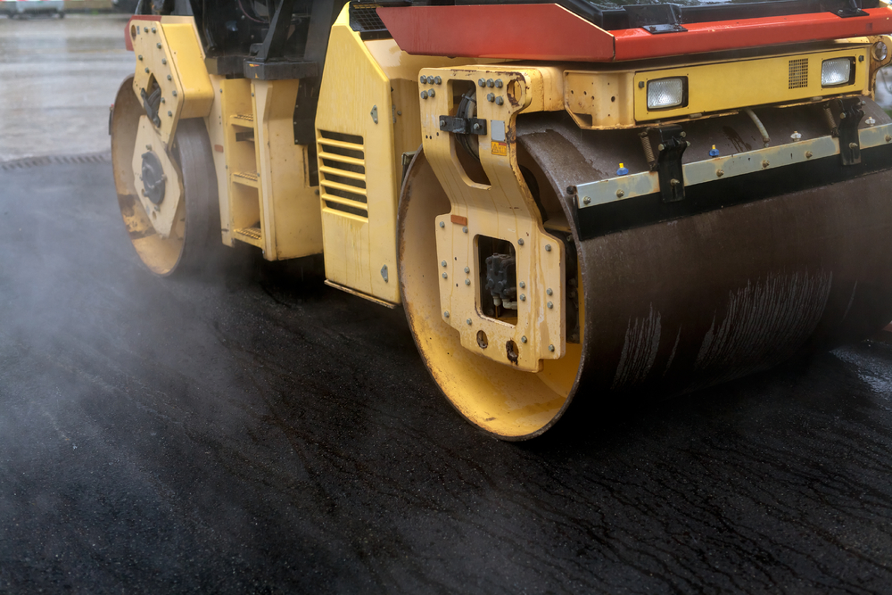 What Heavy Equipment is used to Pave a Driveway?