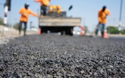 Where Asphalt Comes from Before it's Poured in a Parking Lot